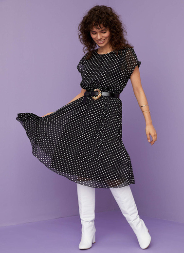 DeFacto Elbise Siyah